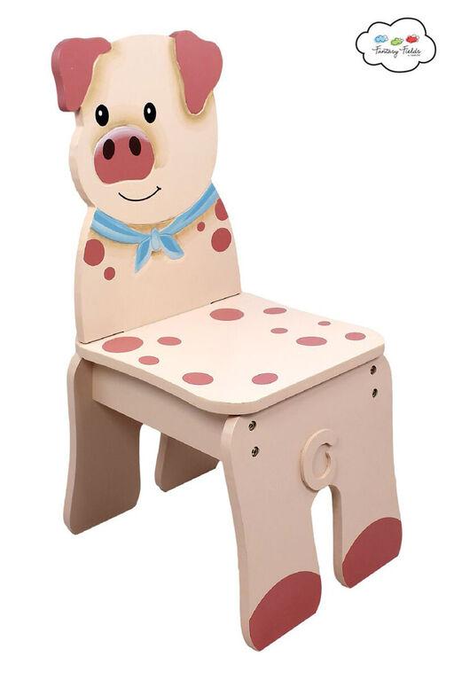 Fantasy Fields - Happy Farm Chair - Pig