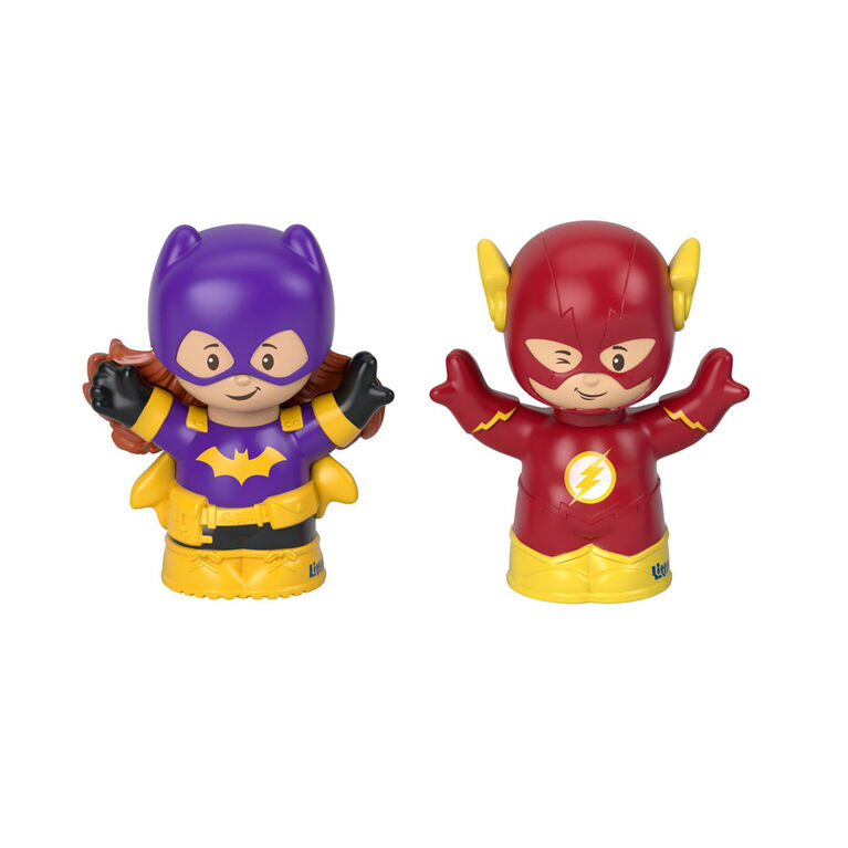 Fisher-Price - Little People - DC Super Friends - Batgirl et The Flash