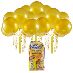 Bunch O Balloons 24 x 11 Inch Self-Sealing Latex Party Balloons - Gold