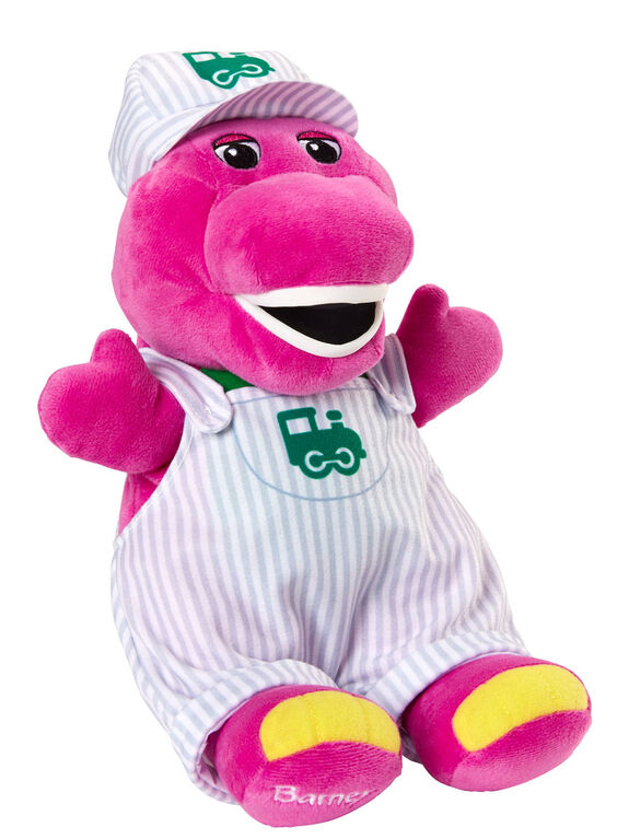 Fisher-Price - Barney - Chapeau et figurine - Conducteur de train - Édition anglaise