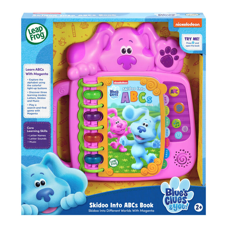 Blue's Clues & You! Skidoo Into ABCs Book (Magenta) - Édition anglaise