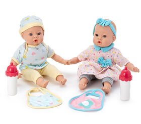 Madame Alexander - 12Inch Lil' Cuddles Twin Set