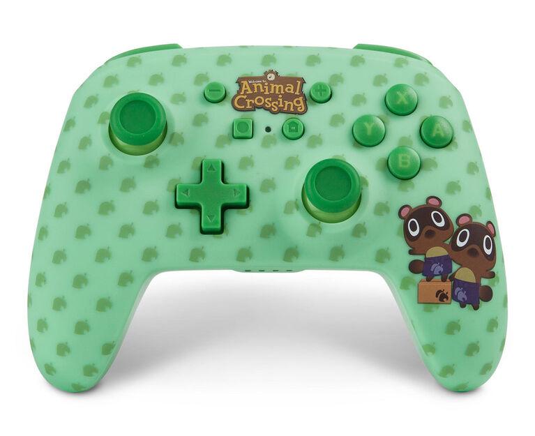 Nintendo Switch Contrôleur sans fil amélioré Animal Crossing Timmy & Tommy