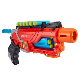 X-Shot Dino Attack Dino Striker Foam Dart Blaster (16 Darts, 4 Eggs)