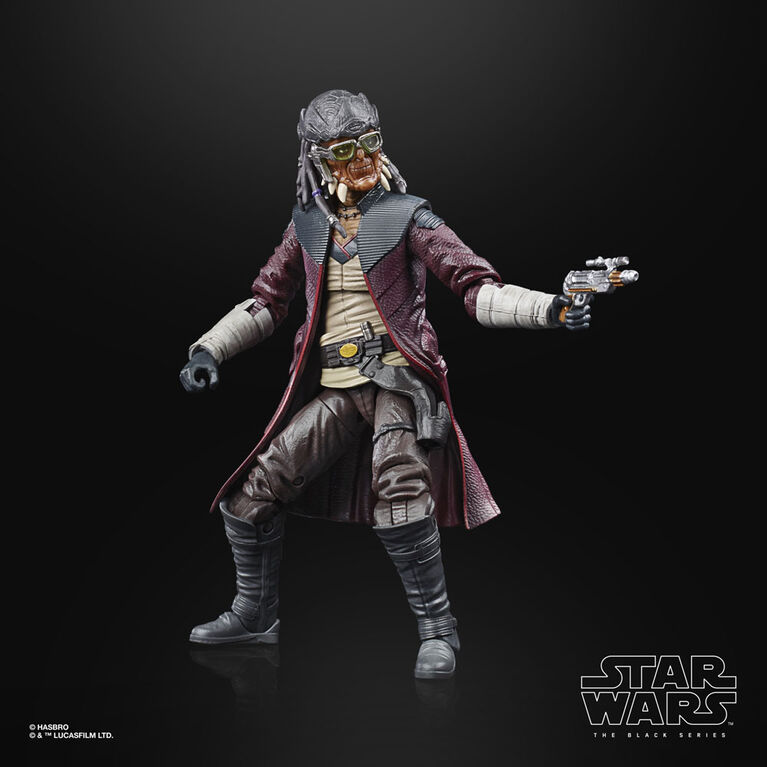 Star Wars The Black Series, figurine de collection Hondo Ohnaka de 15 cm, Star Wars Galaxy's Edge - Notre exclusivité