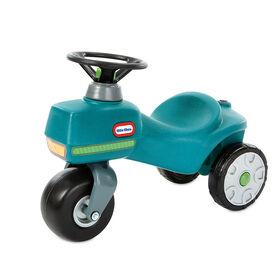 Trotteur tracteur Little Tikes Go Green!MC pour enfants de 1,5 à 3 ans   plastique recyclé