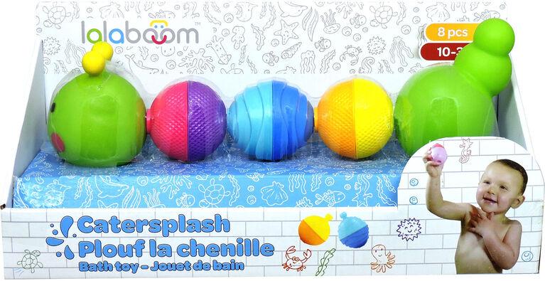 Lalaboom - Bloom Beads Caterpillar Bath Toy