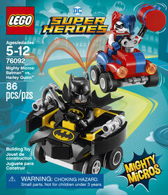 LEGO Super Heroes Mighty Micros: Batman™ vs. Harley Quinn™ 76092