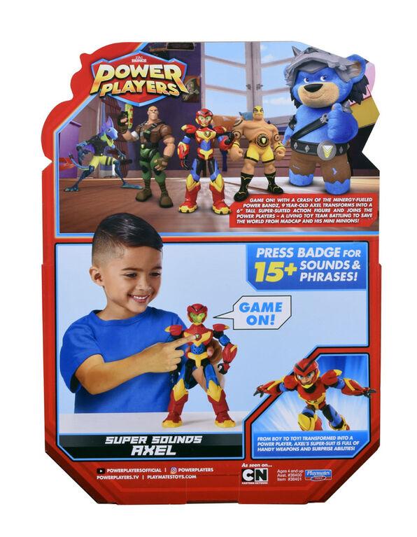 Power Players - Figurines deluxes (avec voix électroniques): Axel - Édition anglaise