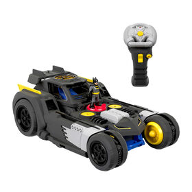 Fisher-Price Imaginext DC Super Friends Transforming Batmobile R/C - English Edition
