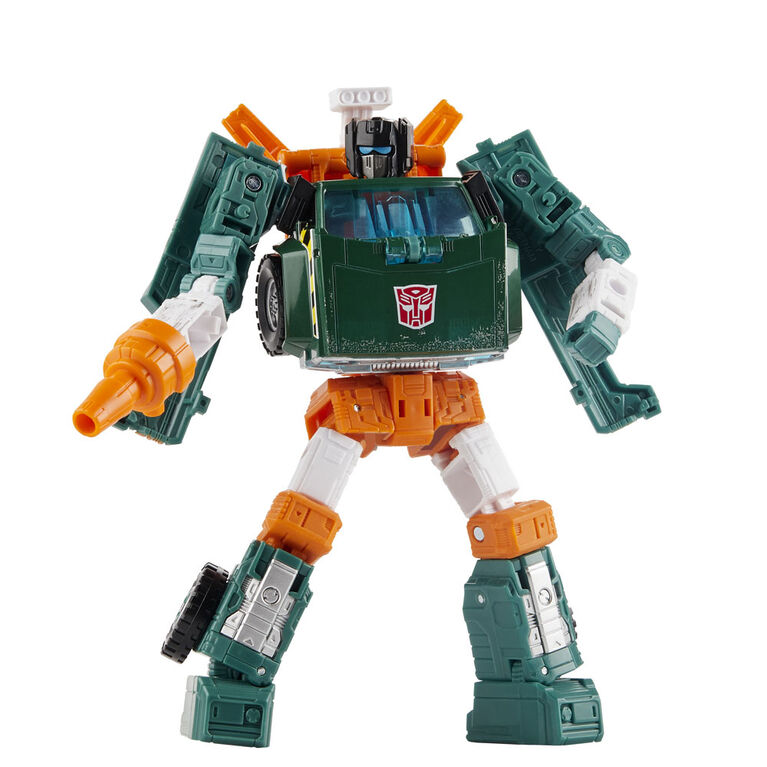 Transformers Generations War for Cybertron: Earthrise Deluxe WFC-E5 Hoist Action Figure