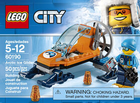 LEGO City Arctic Expedition L'aéroglisseur arctique 60190