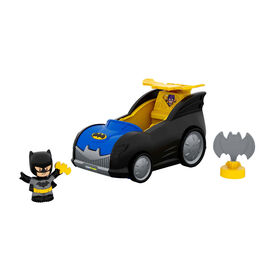 Fisher-Price Little People DC Super Friends 2-in-1 Batmobile