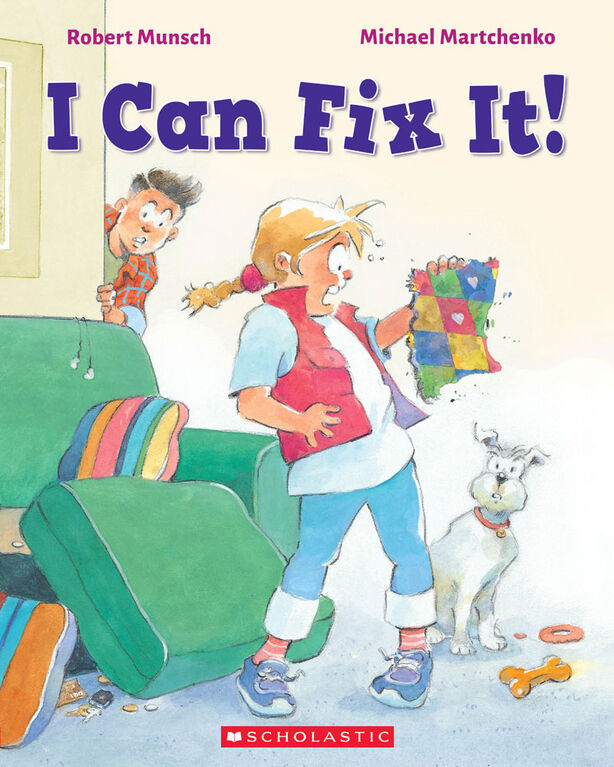 Scholastic - Munsch: I Can Fix It! - English Edition