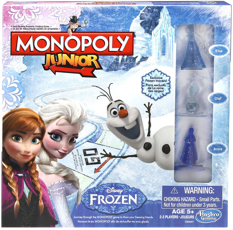 Disney Frozen - Monopoly Junior Game