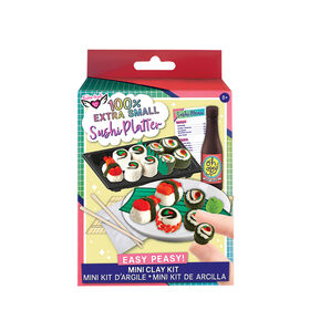 Fashion Angels - 100% Extra Small Sushi Platter Mini Clay Kit