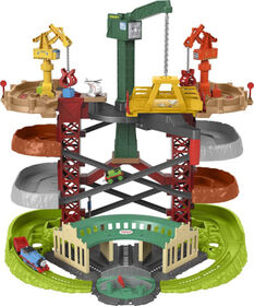 Thomas and Friends Trains and Cranes Super Tower