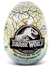 Jurassic World Mystery Puzzle in Egg