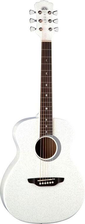 Aurora Borealis 3/4 Guitar - White