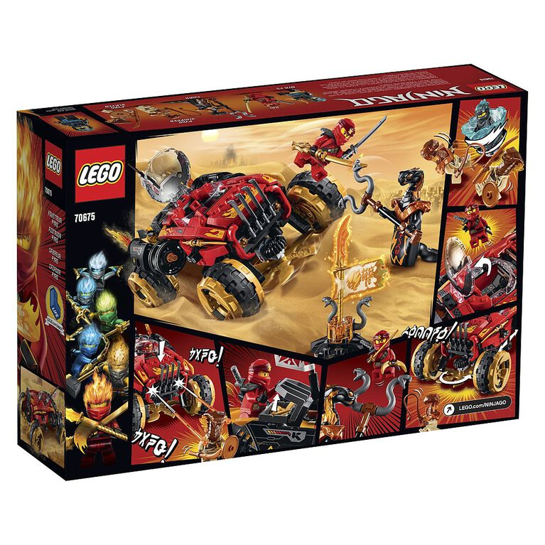 LEGO Ninjago Le 4x4 Katana 70675