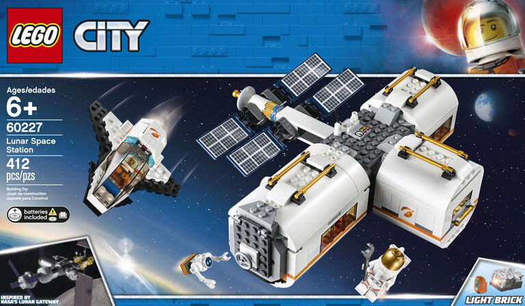 LEGO City Space Port Lunar Space Station 60227