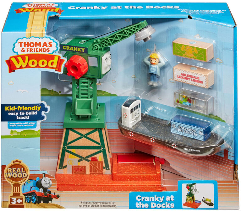 Thomas & Friends Wood Cranky at the Docks