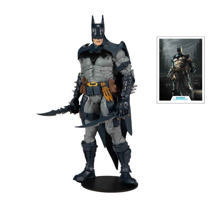 "DC Multiverse - Batman Designed by Todd McFarlane 7"" Action Figure"