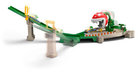 Hot Wheels - Mario Kart - Coffret piste Piranha - Notre Exclusivité
