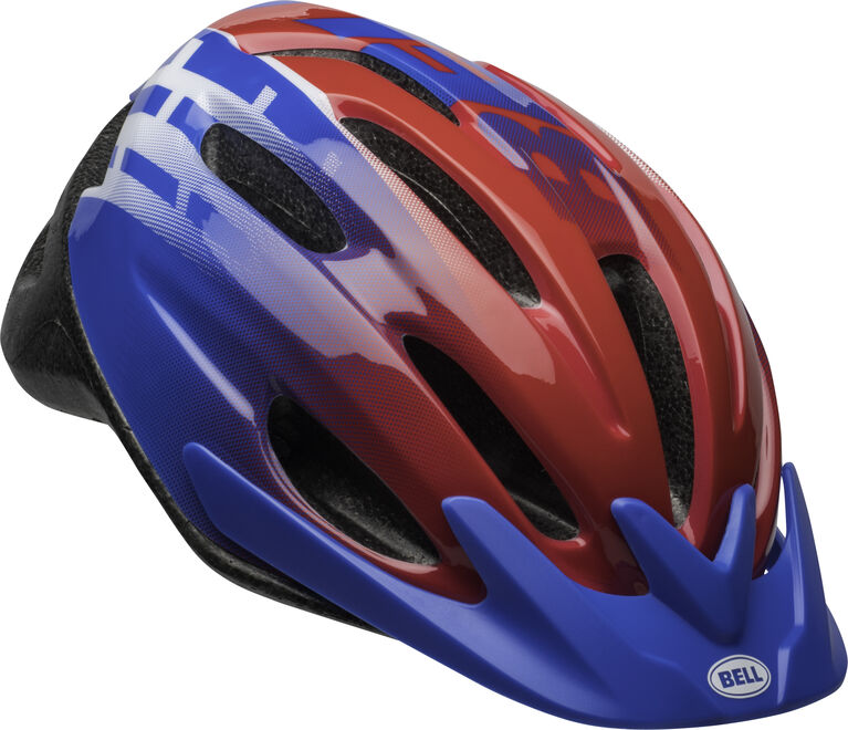 Bell- Child Blast Helmet, Blue/Black Fits head sizes 51-57 cm