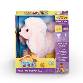 Pitter Patter Pets - Playful Puppy Pal Pink Poodle