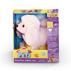 Pitter Patter Pets  - Coffret Playful Puppy Pal Caniche rose - Notre exclusivité - Édition anglaise