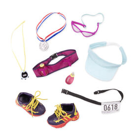 Our Generation, Run For Fun!, Running Set for 18-inch Dolls