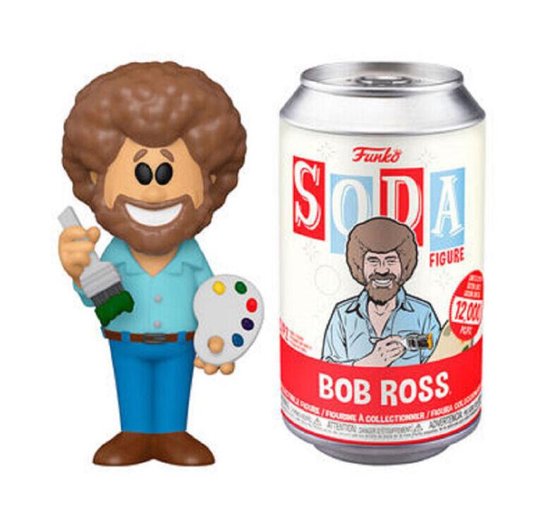 Figurine en Vinyle Bob Ross par Funko SODA! Bob Ross