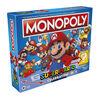 Monopoly: édition Super Mario Célébration, jeu de plateau pour les fans de Super Mario, avec effets sonores de jeux vidéo