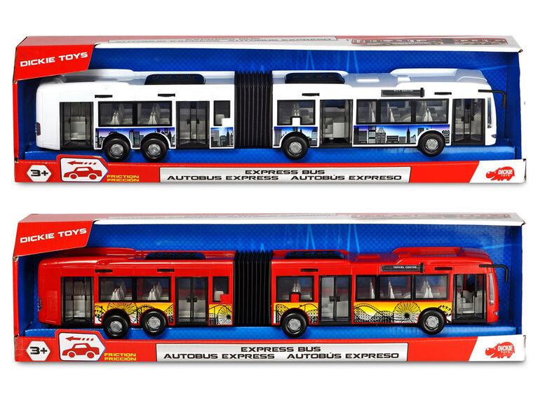 Autobus City Express - blanc