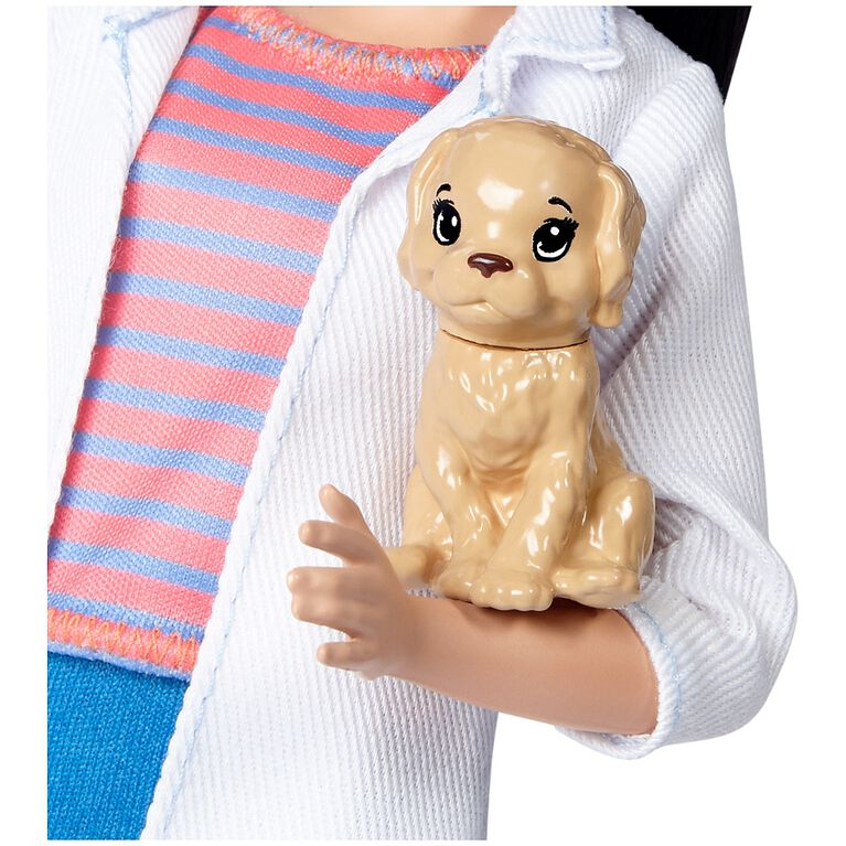 Barbie Careers Pet Vet Doll