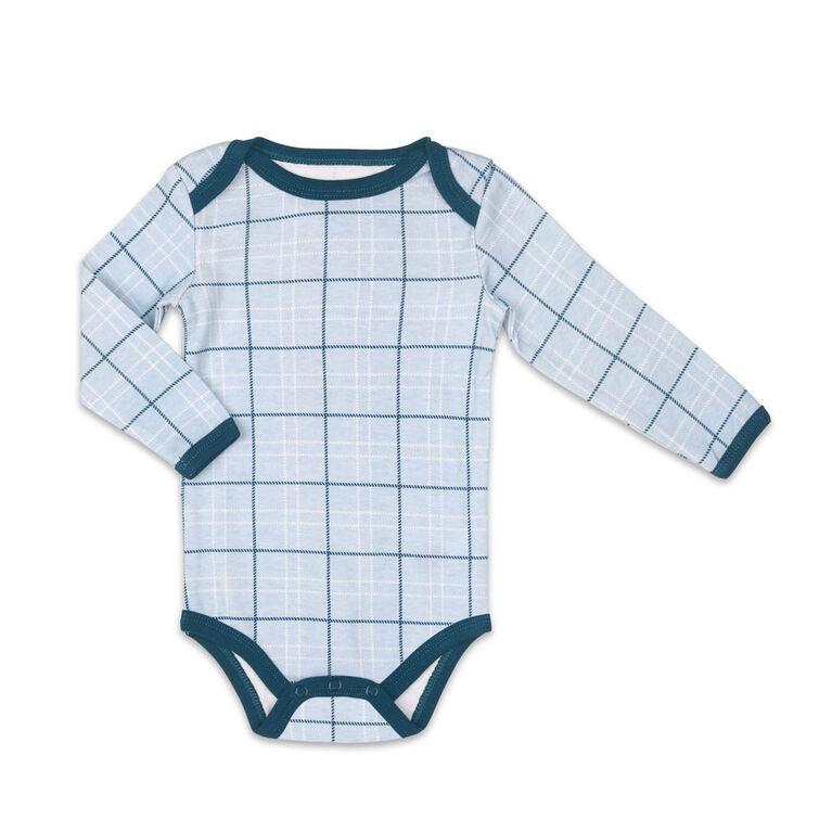 Ensemble Koala Baby combinaison et pantalon, motif écossais - 3-6 Mois