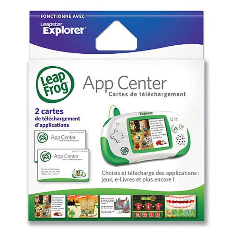 LeapFrog - Leapster Explorer Cartes de téléchargement Version française