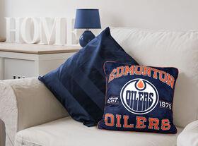 NHL Team Cushion - Edmonton Oilers