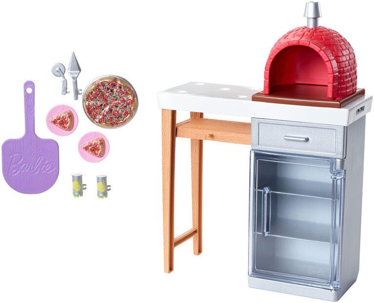 Barbie Barbie Outdoor Furniture, Brick Oven Pack