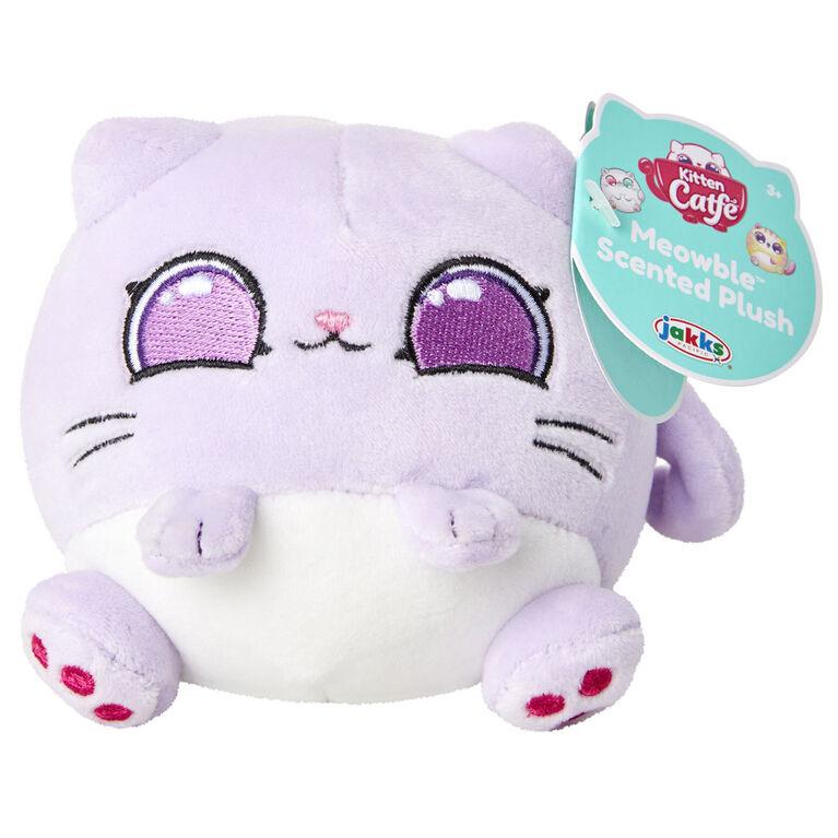 Kitten Catfe Meowble Scented Plush - Lavender