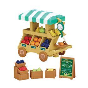 Calico Critter Fruit Wagon