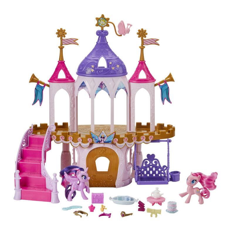 My Little Pony, Château de l'amitié avec poneys Twilight Sparkle et Pinkie Pie