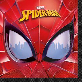 Spider-Man Luncheon Napkins, 16 pieces