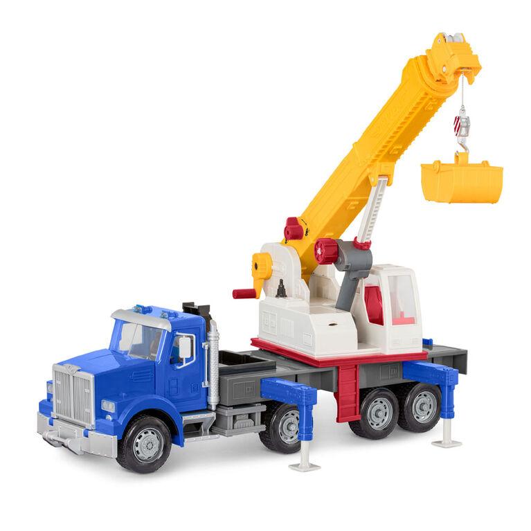 Camion-Grue Géant, Driven avec grue télescopique