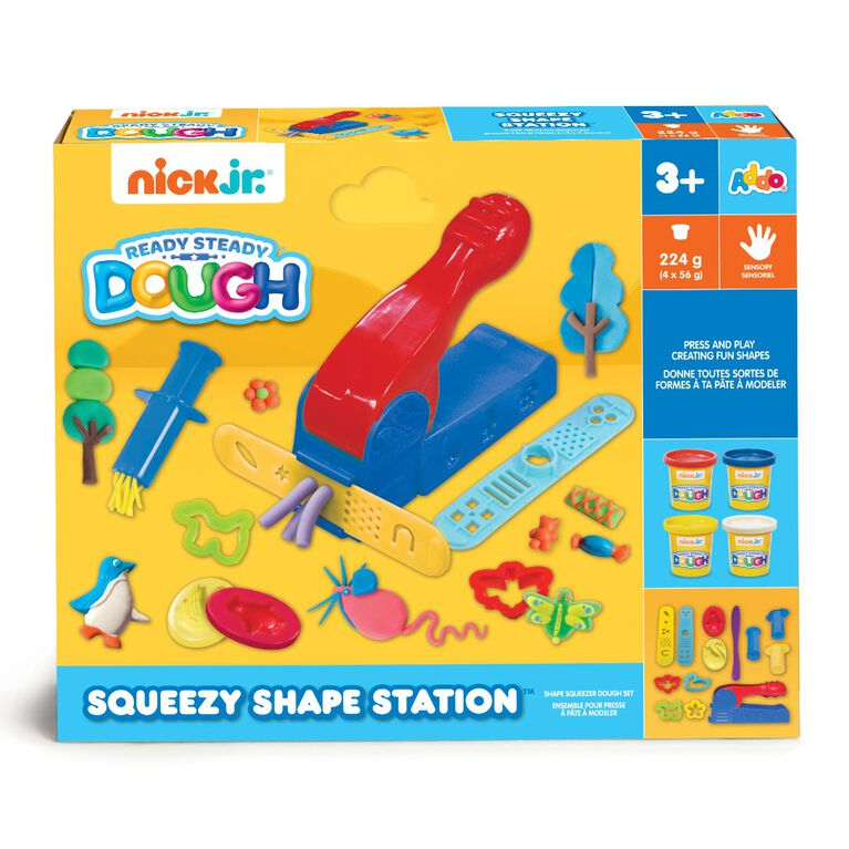 Nick Jr Ready Steady Dough - Coffret Squeezy Shape Station - Notre exclusivité - Notre exclusivité