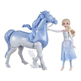 Disney La Reine des neiges 2, Elsa et Nokk interactif, poupées La Reine des neiges, inspirées de La Reine des neiges 2 de Disney