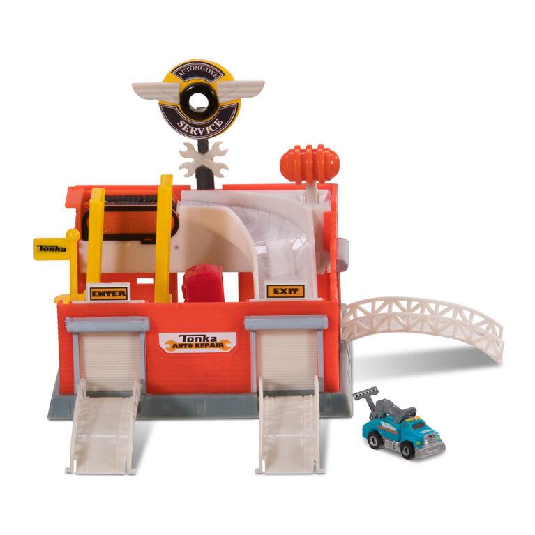 Tonka Tinys Tune-up Garage Playset