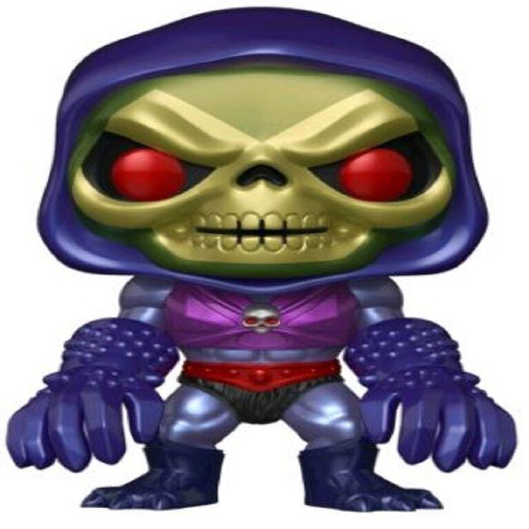 Figurine en vinyle Skeletor with Terror Claws (métallique) par Funko POP! Les Maîtres de l'univers - Notre exclusivité