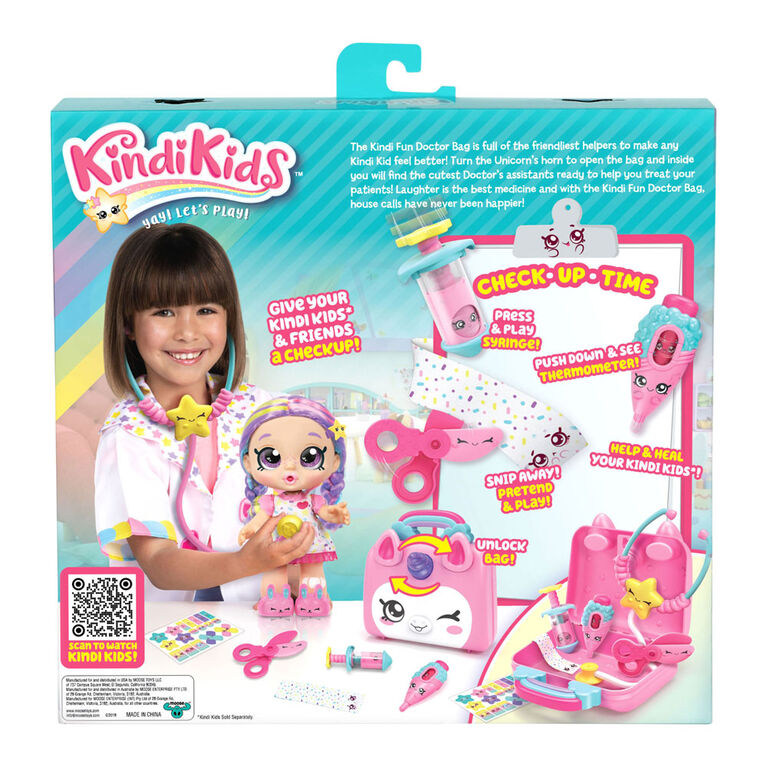 Kindi Kids Snack Time Friends: Doctor Bag